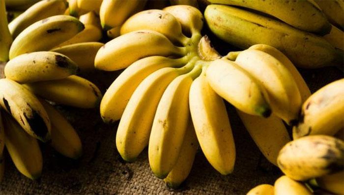 Chuối là trái cây ưa thích của nhiều người.