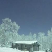 Video: Cầu lửa khiến trời đêm Phần Lan sáng rực như ban ngày