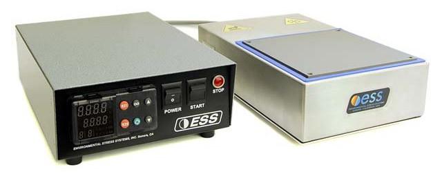 Ví dụ về thiết bị tạo nhiệt (thermal platform/hot-cold plate) được dùng trong thử nghiệm trên