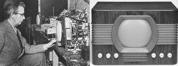 Mẫu Tivi thương mại đầu tiên của Thế giới
