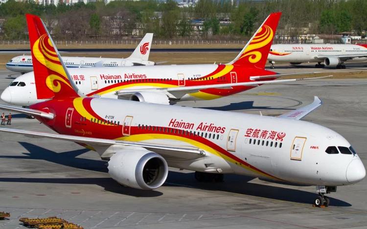 Máy bay của Hainan Airlines.