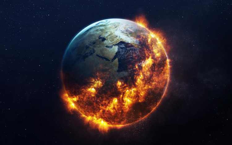 Kết quả hình ảnh cho trái đất nóng lên