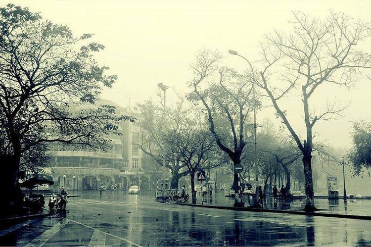 """Những cơn gió lạnh đầu mùa cũng rảo bước khắp phố phường như khẽ nhắc: """"Đông đã sang rồi đấy!""""."""