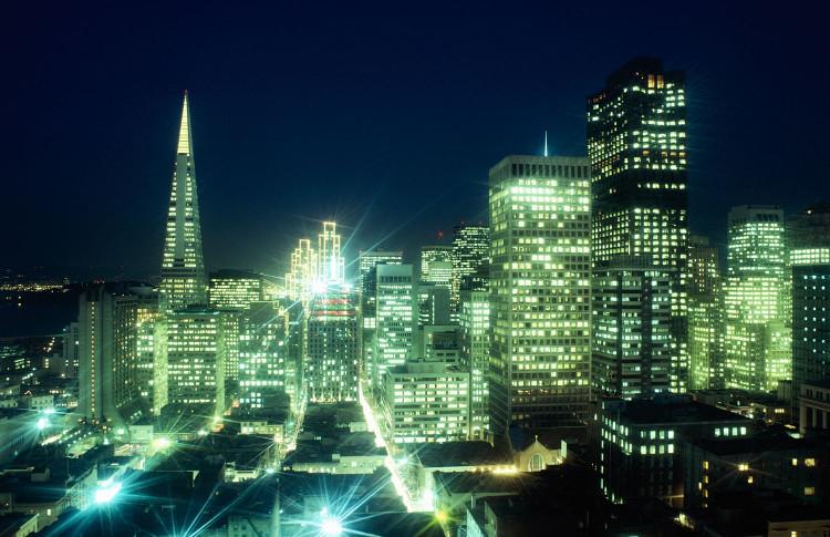 Ô nhiễm ánh sáng là một phần tác động của nền văn minh công nghiệp.