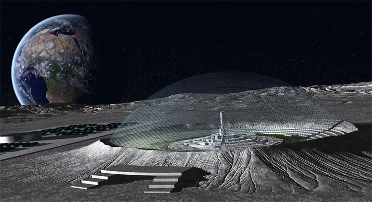 Trung Quốc hợp tác với Cơ quan Vũ trụ Châu Âu để xây dựng căn cứ trên Mặt Trăng.