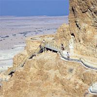 """Pháo đài cổ """"bất khả xâm phạm"""" được xây dựng gần Biển Chết"""