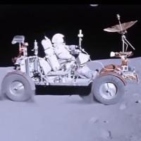 Video: Phi hành gia NASA lái xe trên Mặt Trăng năm 1972