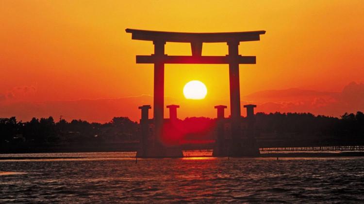Nhật Bản là nước đầu tiên đón bình minh ở châu Á.