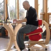 Sprang Chair - Ghế chống đau lưng cho dân văn phòng
