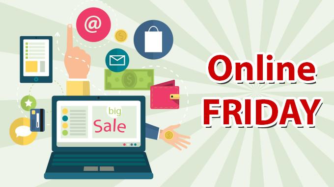 Ngày giảm giá Online Friday sẽ áp dụng cho hình thức mua hàng trực tuyến qua mạng Internet.