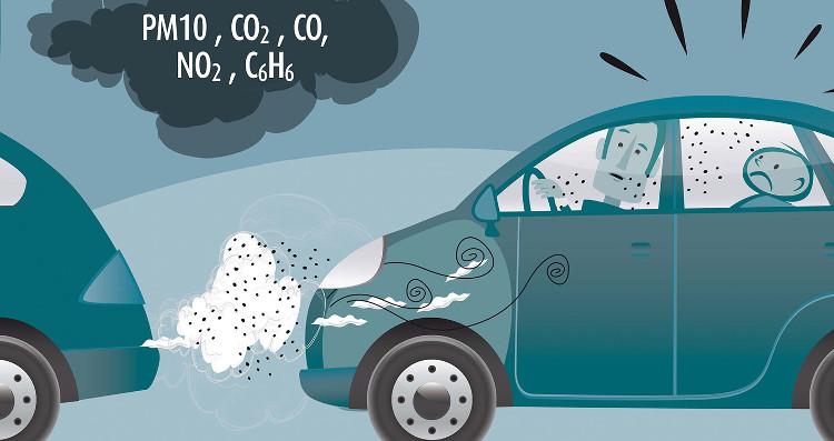 Con người đang ngày càng tạo ra quá nhiều khí CO2.