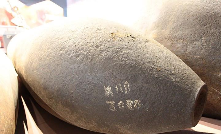 Được biết loại bom M-118 được thả rất nhiều xuống Việt Nam trong thời kỳ chiến tranh.
