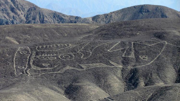 Hình vẽ cá voi sát thủ ở Palpa.