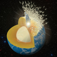 Những cú va chạm mang vàng và bạch kim tới Trái đất