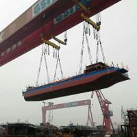 Tàu thủy đầu tiên trên thế giới chạy bằng điện đã được hạ thủy tại Trung Quốc