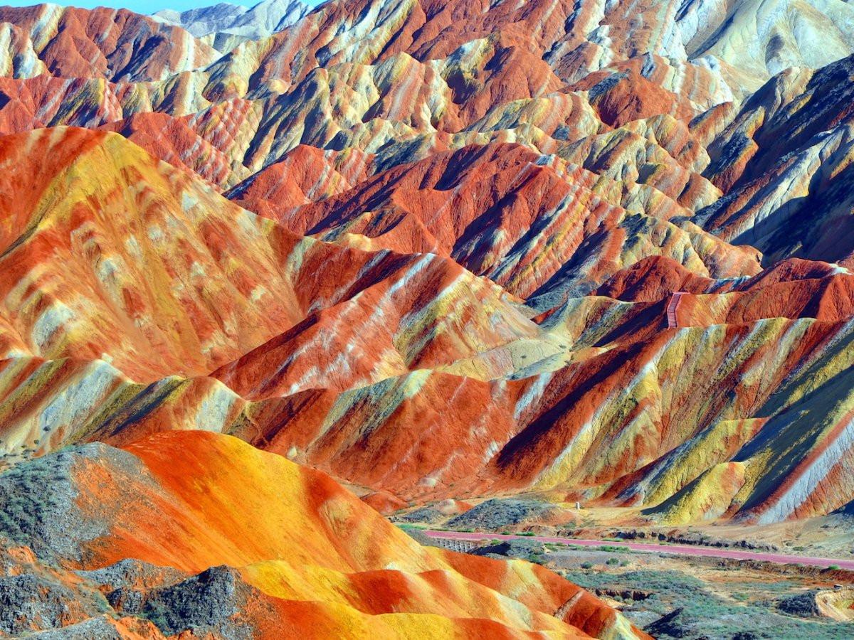 Zhangye Danxia Landform Geological Park, Trung Quốc