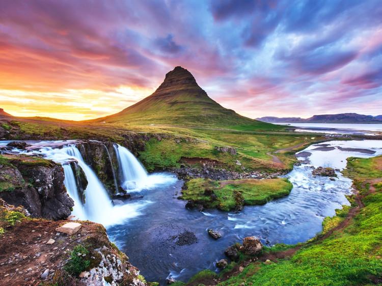 Kirkjufell, Grundarfjörður, Iceland