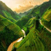Những ngọn núi đẹp nhất thế giới, trong đó có Mù Cang Chải của Việt Nam