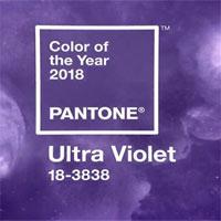"""Màu sắc của năm 2018 - thế giới nhuộm màu """"tím vô cực"""""""