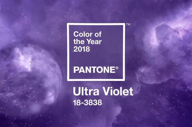 Màu sắc của năm sẽ là tông màu chủ đạo trong các xu hướng thiết kế thời trang, trang trí nội thất trong năm 2018.