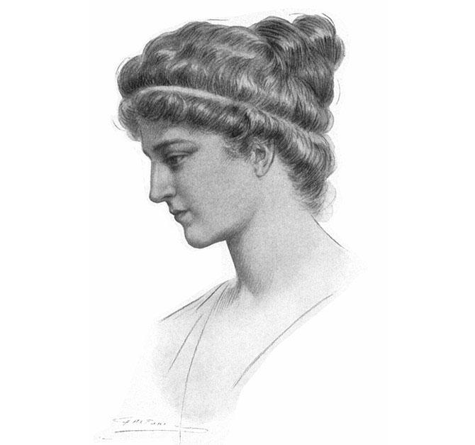 Nhà toán học nữ Hypatia.