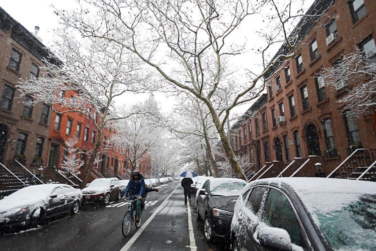 Khung cảnh tại thành phố New York.