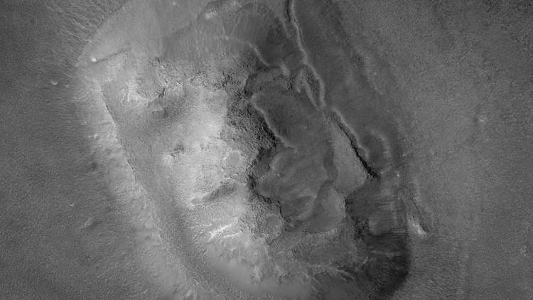 Góc nhìn mới về khuôn mặt sao Hỏa.
