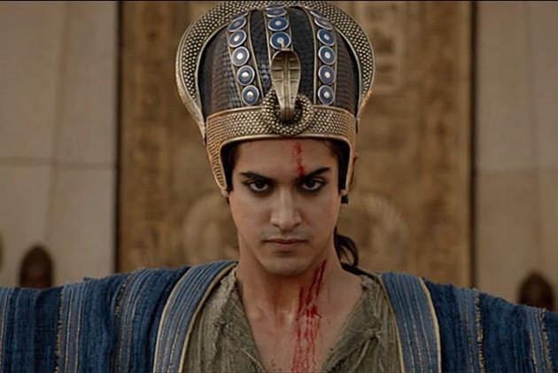 Hình ảnh vua Tutankhamun trên phim điện ảnh.