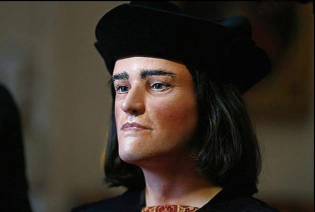 Hình ảnh vua Richarh III cho thấy ông trông khá trẻ.