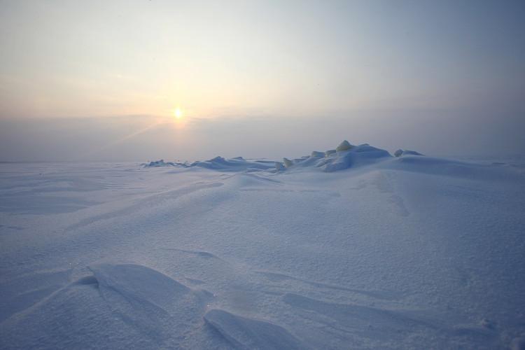 Môi trường khắc nghiệt ở Nam Cực.