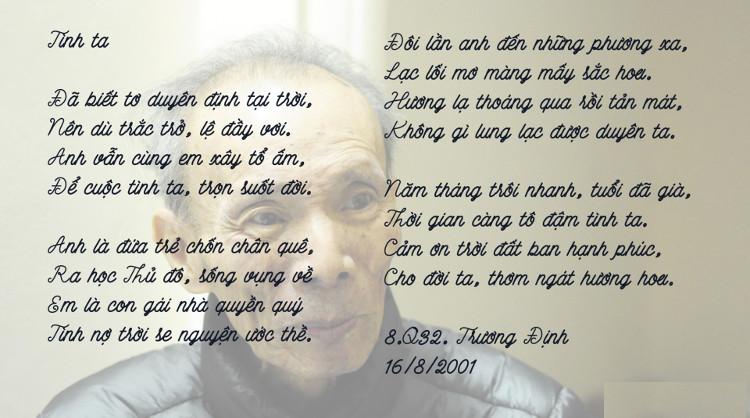 Một bài thơ của dược sĩ Phan Quốc Kinh