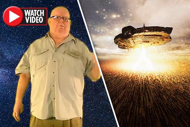 Ông Robert Miller có tiết lộ sốc về người ngoài hành tinh.