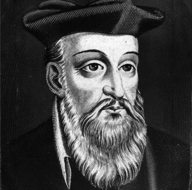 Nhà tiên tri người Pháp Nostradamus (1503-1566).