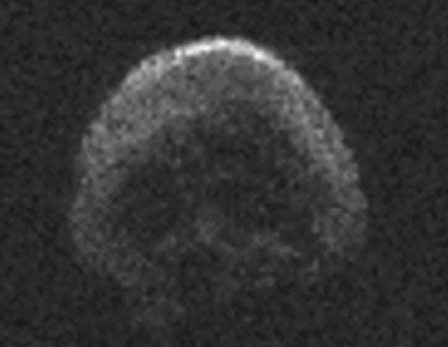 Ảnh chụp tiểu hành tinh TB145 năm 2015.