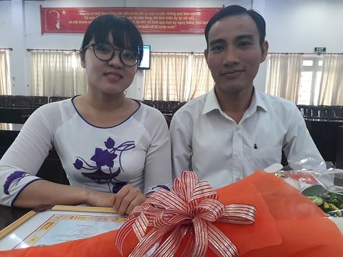 Hai giáo viên trường quốc tế Việt Úc, tác giả của clip STEAM - Tay đua siêu hạng.