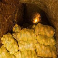 Ngồi nghỉ ở hầm khoai tây, lão nông phát hiện ra cả kho báu khổng lồ
