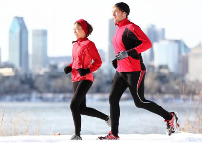 Khởi động trước khi tập luyện là điều không thể thiếu, nhất là trong mùa đông.