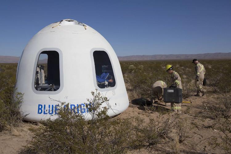 Công ty Blue Origin đã thử nghiệm thành công con tàu du lịch vào không gian.