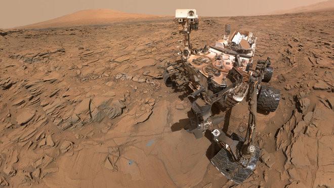 Một robot thăm dò của NASA