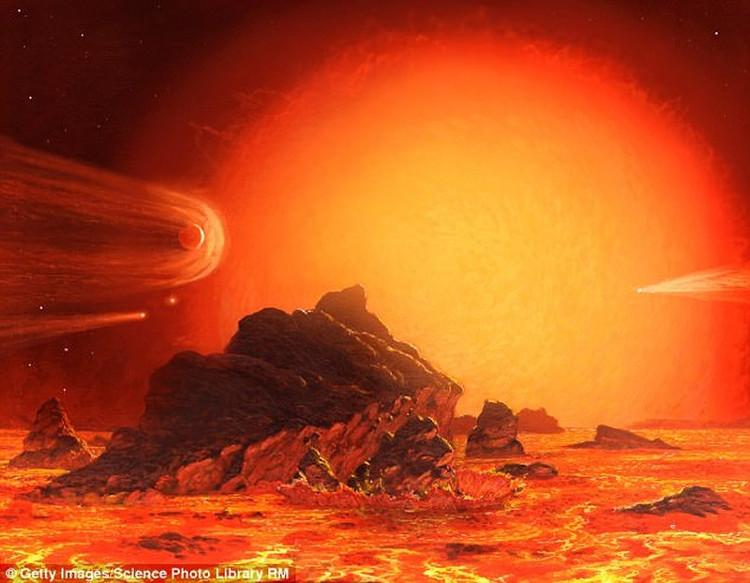 """Theo đúng quy luật, Mặt trời cũng sẽ rơi vào giai đoạn """"chết"""" tương tự trong 5 tỉ năm nữa."""
