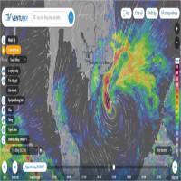 Cập nhật trực tiếp đường đi của bão Molave