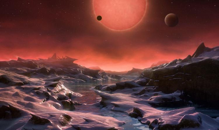 Phát hiện hệ sao có 7 hành tinh giống Trái Đất