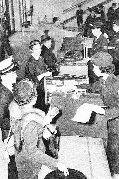 Sân bay Haneda, Nhật Bản những năm 1950.
