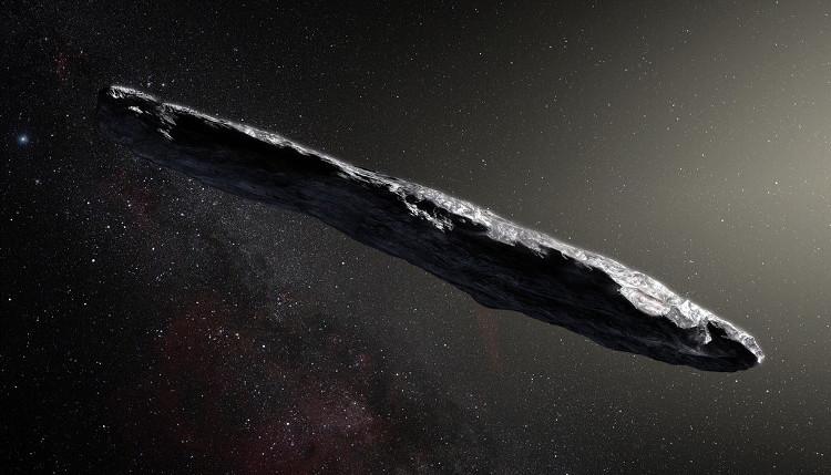 Tiểu hành tinh du hành liên sao đầu tiên đến hệ Mặt Trời