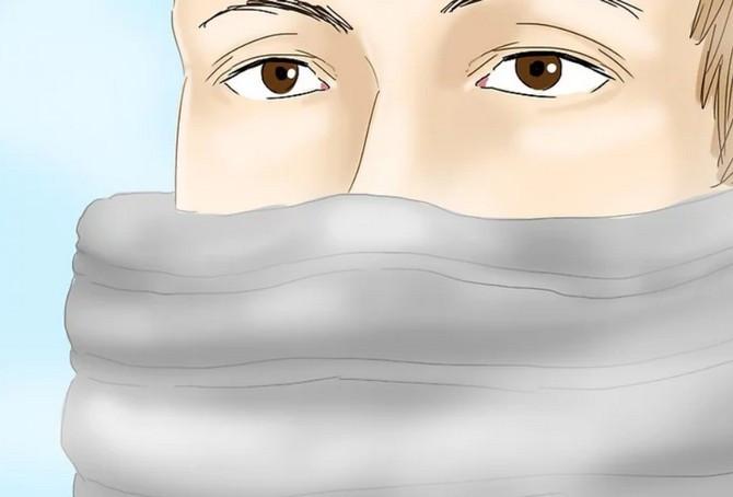 Luôn giữ ấm cho mũi khi đi ra ngoài trời lạnh vì đây là bộ phận dễ bị tiếp xúc với không khí lạnh.