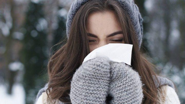 Có khoảng 50-90% người bị sổ mũi khi trời lạnh.