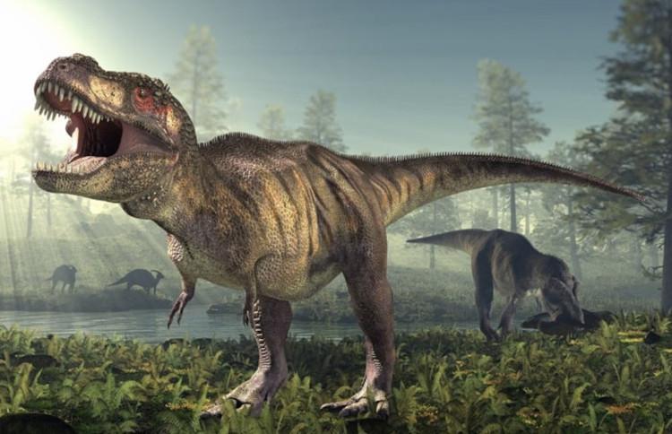 Tạo hình thường thấy của T-rex trong phim ảnh.