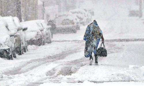 Biến đổi khí hậu có thể khiến mùa đông khắc nghiệt hơn.
