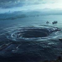Bí ẩn xoáy nước kép khổng lồ hút sinh vật biển trên đại dương