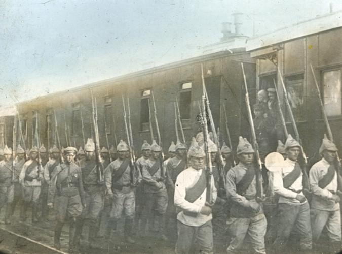 Năm 1918 cũng là năm các đế quốc can thiệp vào cuộc nội chiến Nga.